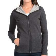 Burton Negani Hoodie - Full Zip (For Women) in True Black Heather - Closeouts