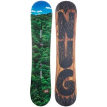 Burton Nug Snowboard in 142 Forrest Blue Helicopter/Bark Carving Bottom - 2nds