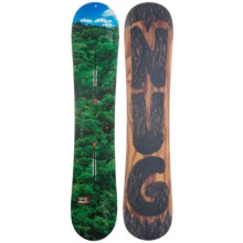 Burton Nug Snowboard in 146 Forrest Blue Helicopter/Bark Carving Bottom - 2nds
