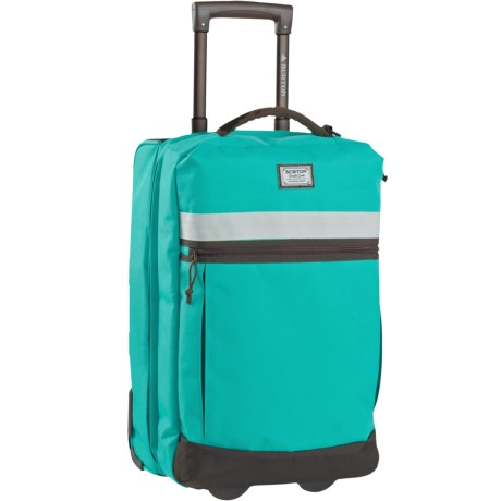 Burton Overnighter Rolling Carry On Suitcase