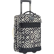Burton Overnighter Rolling Carry-On Suitcase in Geo Print - Closeouts