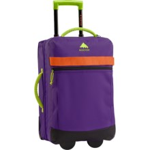 Burton Overnighter Rolling Carry-On Suitcase in Grape Crush - Closeouts