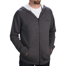 Burton Park Hoodie - Full Zip (For Men) in True Black Heather - Closeouts