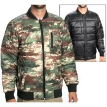 Burton Parker Jacket - Insulated, Reversible (For Men) in Canvas Camo/True Black - Closeouts