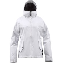 Burton Penelope Jacket - Insulated (For Women) in Bright White - Closeouts