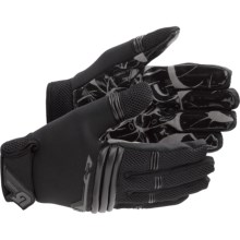 Burton Pipe Gloves (For Men) in True Black - Closeouts