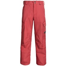 Burton Poacher Snow Pants - Waterproof, (For Men) in Cardinal - Closeouts
