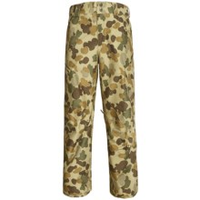 Burton Poacher Snow Pants - Waterproof, (For Men) in Grayeen Fowl Camo - Closeouts