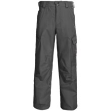 Burton Poacher Snow Pants - Waterproof, (For Men) in Quarry - Closeouts