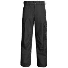Burton Poacher Snow Pants - Waterproof, (For Men) in True Black - Closeouts