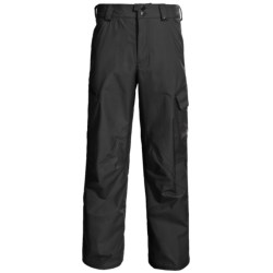 Burton Poacher Snow Pants - Waterproof, (For Men) in True Black