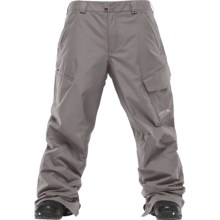 Burton Poacher Snow Pants - Waterproof, Insulated (For Men) in Jet Pack - Closeouts