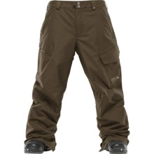Burton Poacher Snow Pants - Waterproof, Insulated (For Men) in Sentinal - Closeouts