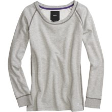 Burton Premium Nordic Sweatshirt - Crew Neck, Long Sleeve (For Women) in Heather Grey - Closeouts