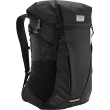 Burton Prism Backpack in True Black Heather Twill - Closeouts