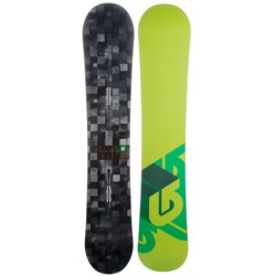 Burton Process Snowboard in 152 Digital/Green Bottom