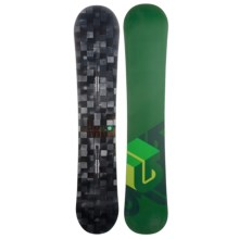 Burton Process Snowboard in 152 Digital/Medium Greem Bottom - Closeouts