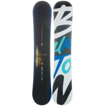 Burton Process Snowboard in 157 Graphic W/Black/White Bottom - Closeouts