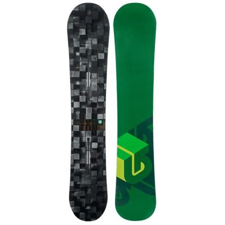 Burton Process Snowboard in 152 Digital/Green Bottom