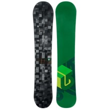 Burton Process Snowboard in Digital/ Dark Green Bottom - Closeouts