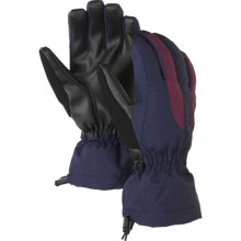 Burton Profile Under Snowboarding Gloves - Waterproof Insulated (For Women) in Night Rider/Sangria - Closeouts