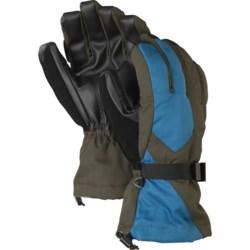 Burton Pyro Gloves - Waterproof, Insulated (For Men) in True Black