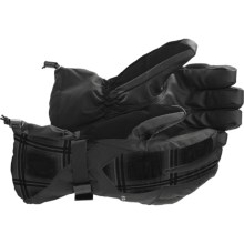 Burton Pyro Gloves - Waterproof, Insulated (For Men) in True Black - Closeouts