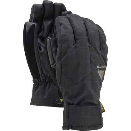 Burton Pyro Under Gloves - Waterproof, Insulated, Touchscreen Compatible (For Men) in True Black - Closeouts