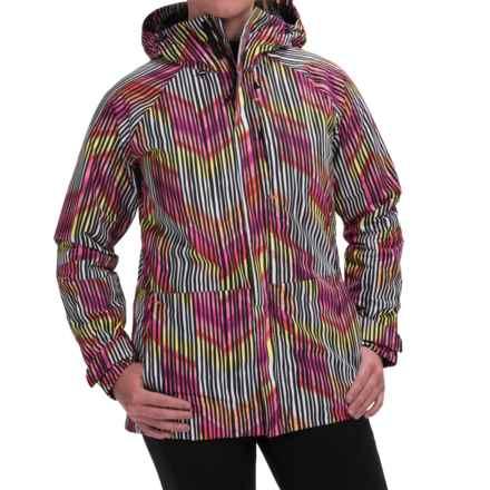 Burton Radar Snowboard Jacket - Waterproof, Insulated (For Women) in Rainbow Chevron - Closeouts