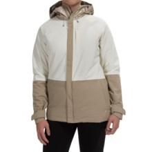 Burton Radar Snowboard Jacket - Waterproof, Insulated (For Women) in Sandstruck Metallic/Stout White/Sandtruck - Closeouts