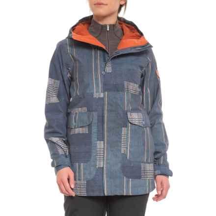 Burton Rainbow Stripe Cerena Snowboard Jacket - Waterproof, Insulated (For Women) in Rainbow Stripe - Closeouts