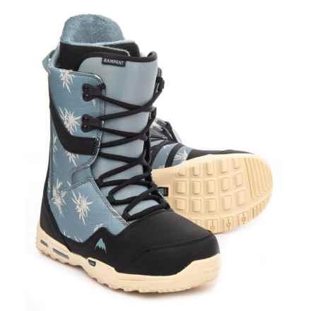 Burton Rampant Snowboard Boots (For Men) in Tropical Trip - Closeouts