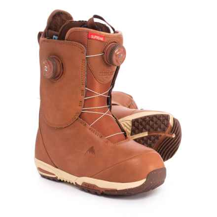 Burton Red Wing® Supreme Leather Heat Snowboard Boots (For Women) in Redwing - Closeouts