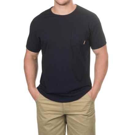 Burton Reed Pocket T-Shirt - Short Sleeve (For Men) in Indigo - Closeouts