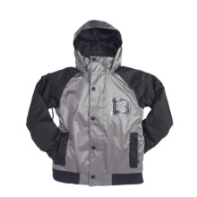 Burton Repel Jacket - Insulated (For Boys) in True Black/Jet Pack - Closeouts