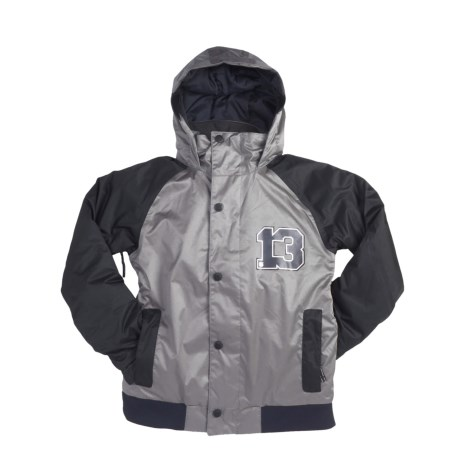 Burton Repel Jacket - Insulated (For Boys) in True Black/Jet Pack