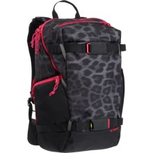 Burton Riders Backpack - 23L (For Women) in Queen La Cheetah - Closeouts