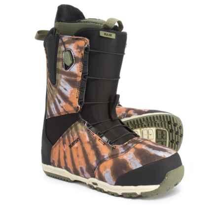 Burton Ruler Snowboard Boots (For Men) in Black/Multi - Closeouts