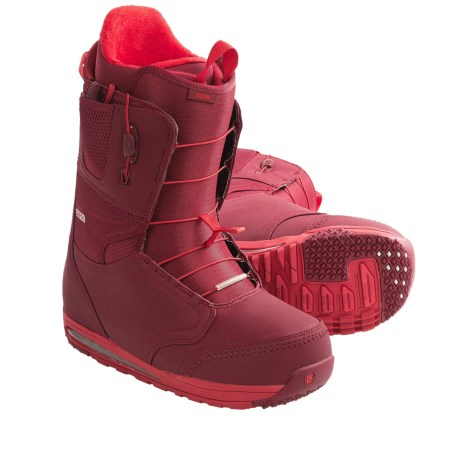 Burton Ruler Snowboard Boots (For Men) in Red