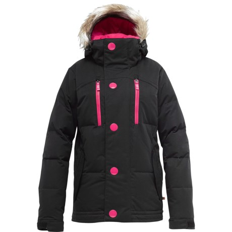 Burton Sage Down Jacket - 650 Fill Power (For Women) in True Black