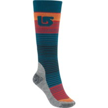 Burton Scout Snowboard Socks - Midweight, Over the Calf (For Women) in Tahoe - Closeouts