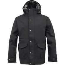 Burton Sentry Jacket - Waterproof (For Men) in True Black - Closeouts
