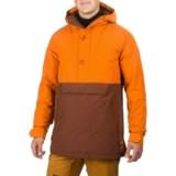 Burton Service Anorak Jacket - Waterproof, Insulated, Zip Neck (For Men)