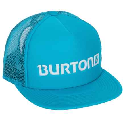 Burton Shadow Trucker Hat (For Men) in Caneel Bay - Closeouts