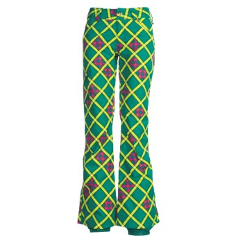 Burton Shayla Snow Pants- Waterproof (For Junior Girls) in Prism Plaid