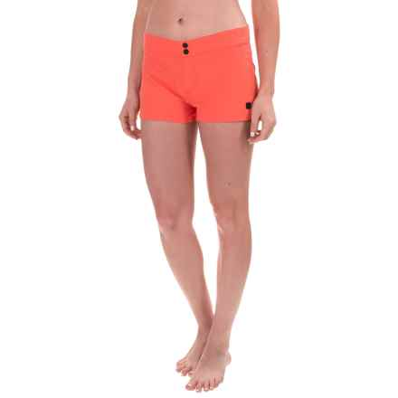 Burton Shearwater Boardshorts (For Women) in Hot Coral - Closeouts
