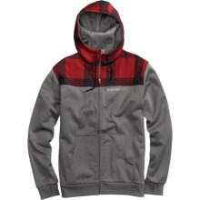 Burton Shell Hoodie Sweatshirt - Full Zip (For Men) in Jet Pack - Closeouts