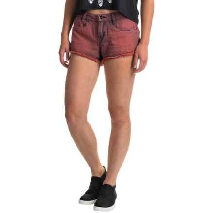 Burton Skimmer Jean Shorts (For Women) in Bittersweet Denim - Closeouts
