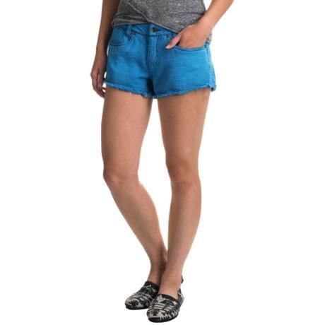 Burton Skimmer Jean Shorts (For Women) in Celestial Denim