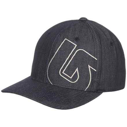 Burton Slidestyle Flexfit® Baseball Cap (For Men) in Dark Denim - Closeouts